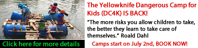 Dangerous Kids Camp 2018