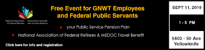 Free Event for GNWT Employees